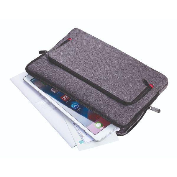 Troika Mon Carry Computer Bag / Document Bag Travel Bag / Trolley Case Bags TDB1022DGY-TK-T3