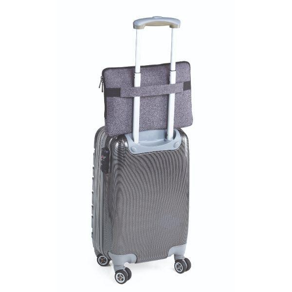 Troika Mon Carry Computer Bag / Document Bag Travel Bag / Trolley Case Bags TDB1022DGY-TK-T4
