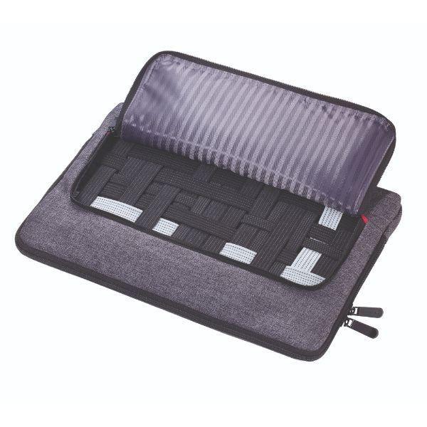 Troika Mon Carry Computer Bag / Document Bag Travel Bag / Trolley Case Bags TDB1022DGY-TK-T6