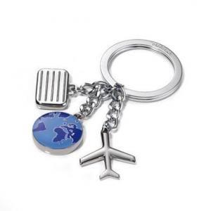 Troika Keyring Weltenbummler Metals & Hardwares Keychains MKY1017