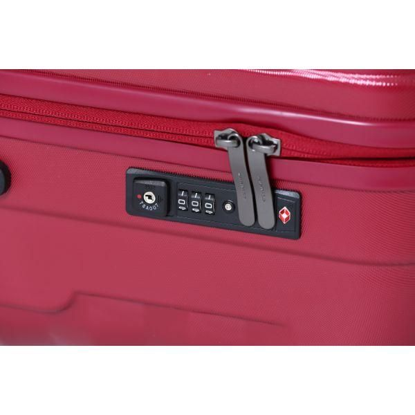 Mandarina Duck FREGMENT business causal luggage 24' Travel Bag / Trolley Case Bags OLR1021RED-MD-T5