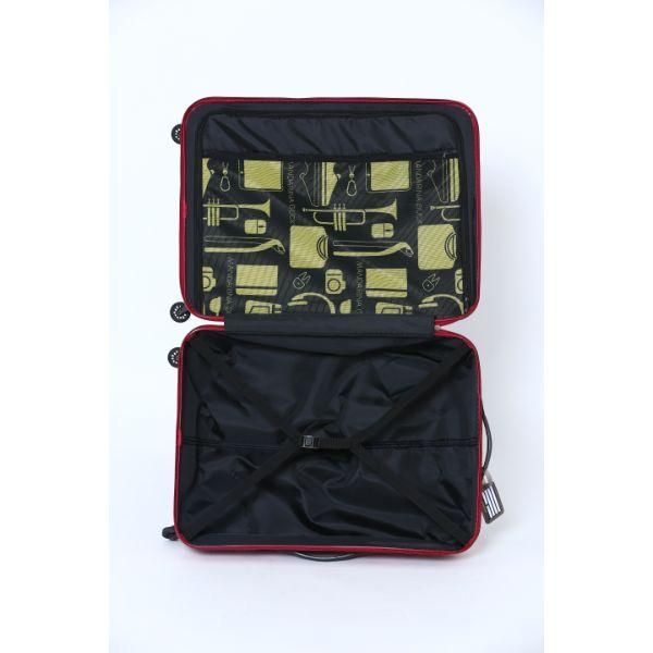 Mandarina Duck FREGMENT business causal luggage 24' Travel Bag / Trolley Case Bags OLR1021RED-MD-T6