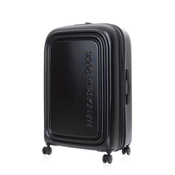 Mandarina Duck LOGODUCK luggage 24' Travel Bag / Trolley Case Bags TTC1007BLK1