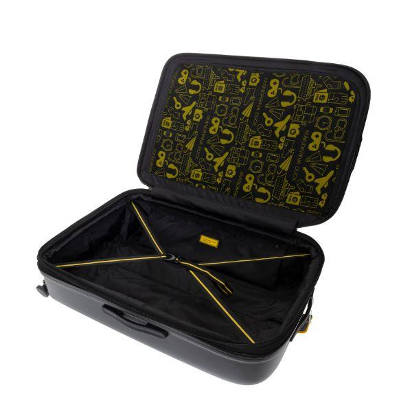 Mandarina Duck LOGODUCK luggage 24' Travel Bag / Trolley Case Bags TTC1007BLK4