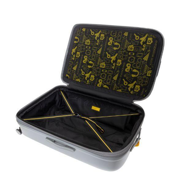 Mandarina Duck LOGODUCK luggage 24' Travel Bag / Trolley Case Bags TTC1007GRY4