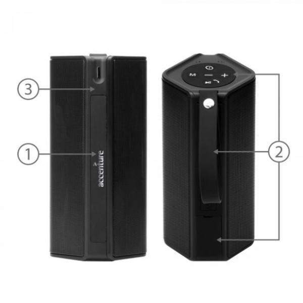 BND502 Badaboom Wireless Speaker & Powerbank Electronics & Technology BND502-2