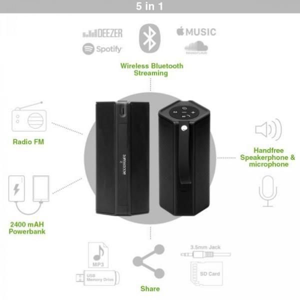 BND502 Badaboom Wireless Speaker & Powerbank Electronics & Technology BND502-3