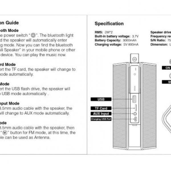BND502 Badaboom Wireless Speaker & Powerbank Electronics & Technology BND502-6