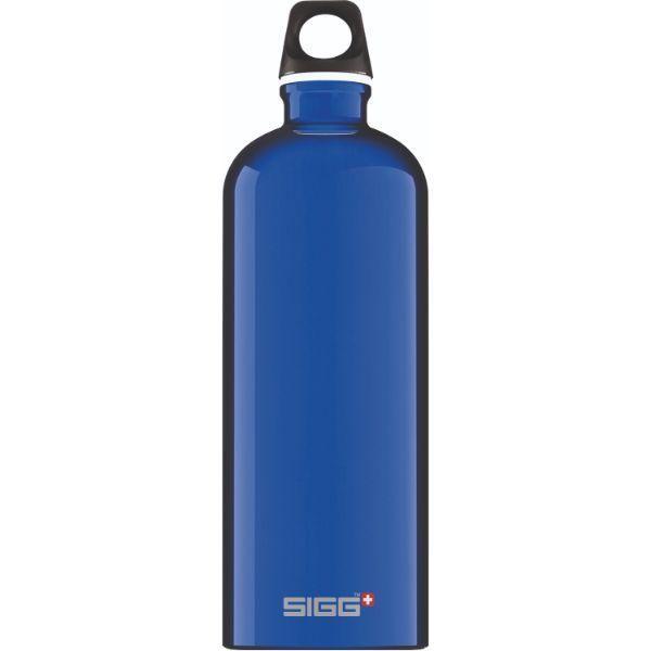 Traveller 1L Water Bottle Household Products Drinkwares 1.0L_7533.30_Traveller_Dark_Blue