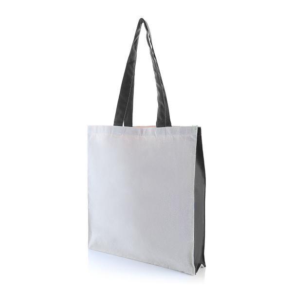 Two Side Color Tote Bag Tote Bag / Non-Woven Bag Bags Eco Friendly TNW1039_BlackHD2
