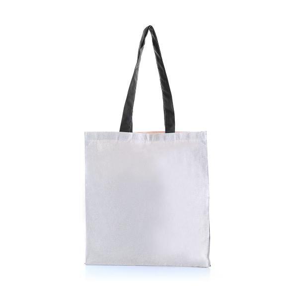 Two Side Color Tote Bag Tote Bag / Non-Woven Bag Bags Eco Friendly TNW1039_BlackHD