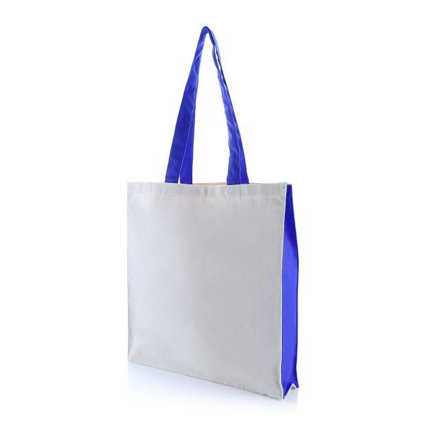 Two Side Color Tote Bag Tote Bag / Non-Woven Bag Bags Eco Friendly TNW1039_BlueHD2