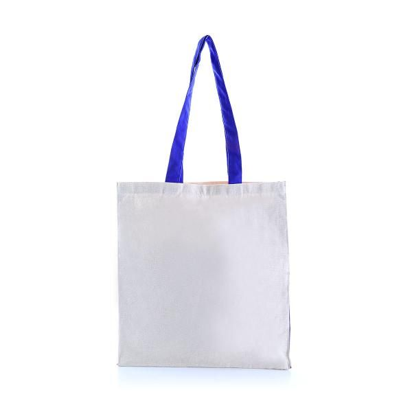 Two Side Color Tote Bag Tote Bag / Non-Woven Bag Bags Eco Friendly TNW1039_BlueHD
