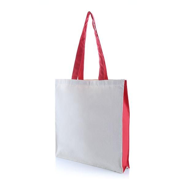 Two Side Color Tote Bag Tote Bag / Non-Woven Bag Bags Eco Friendly TNW1039_RedHD2