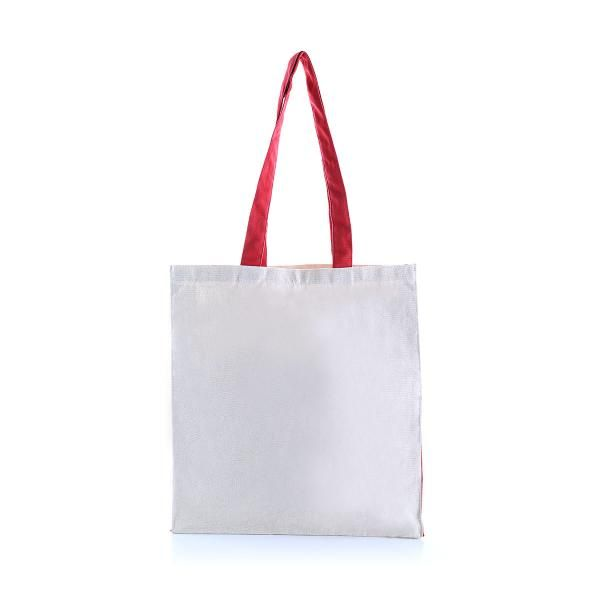 Two Side Color Tote Bag Tote Bag / Non-Woven Bag Bags Eco Friendly TNW1039_RedHD