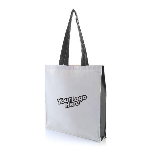 Two Side Color Tote Bag Tote Bag / Non-Woven Bag Bags Eco Friendly TNW1039LogoHD