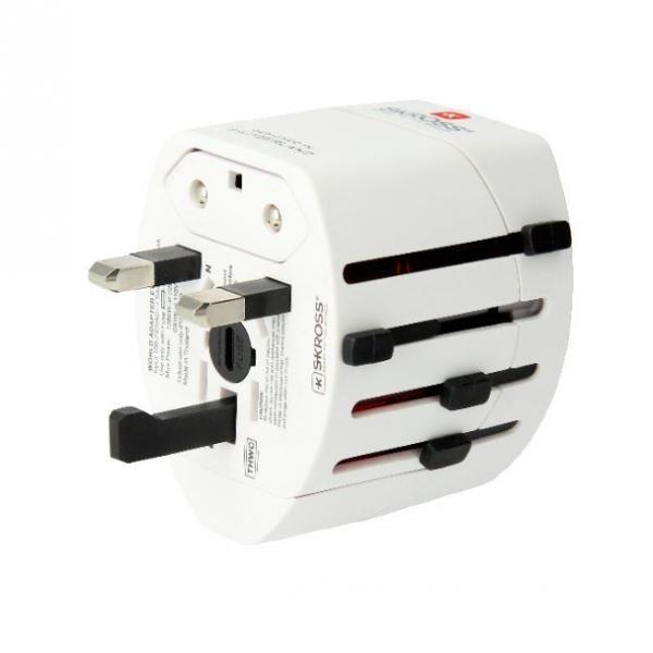 Skross EVO USD 3Pole World Travel Adapter Electronics & Technology Other Electronics & Technology 2