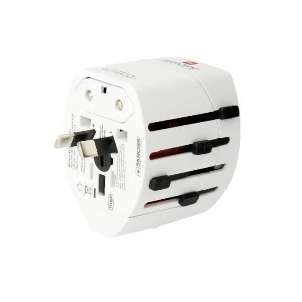 Skross EVO USD 3Pole World Travel Adapter Electronics & Technology Other Electronics & Technology 3