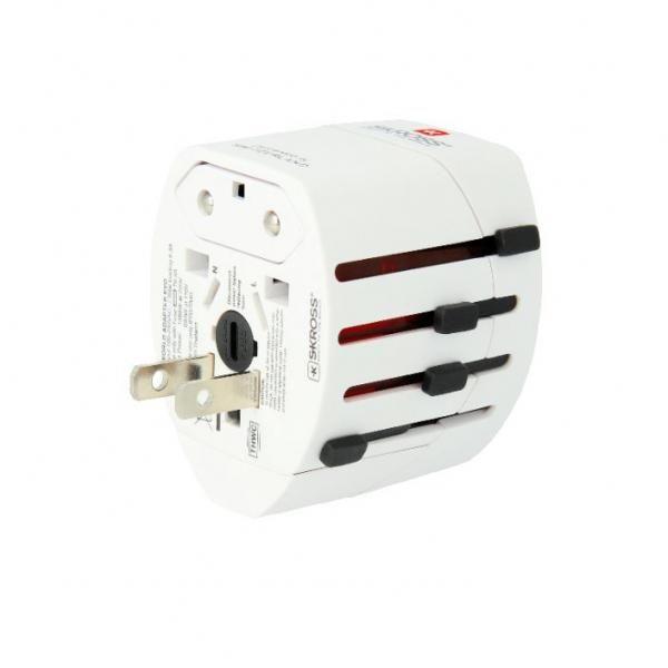 Skross EVO USD 3Pole World Travel Adapter Electronics & Technology Other Electronics & Technology 5