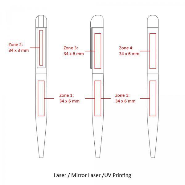 BND62 Folk Twist Metal Ball Pen Office Supplies Pen & Pencils BND62Folk-6