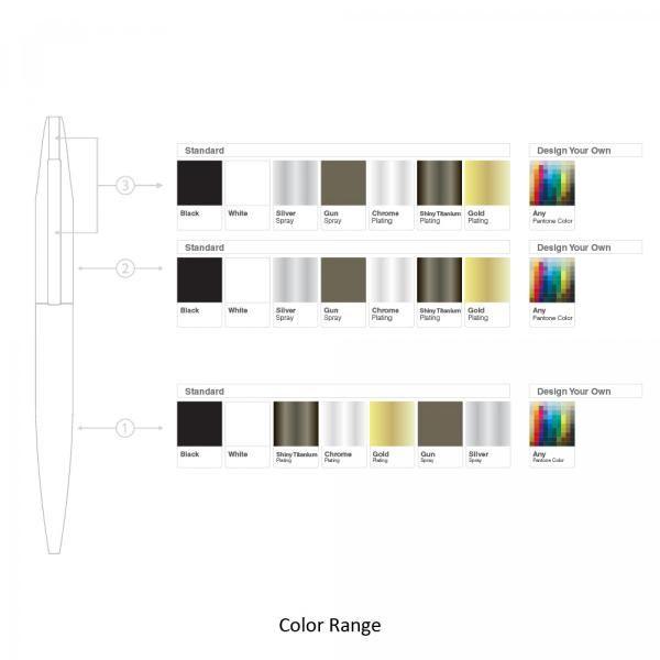BND66 Slim Twist Metal Ball Pen Office Supplies Pen & Pencils BND66SLIM-7