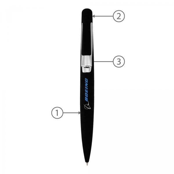 BND03M Aji Metal Twist Metal Ball Pen Office Supplies Pen & Pencils BND03M-1