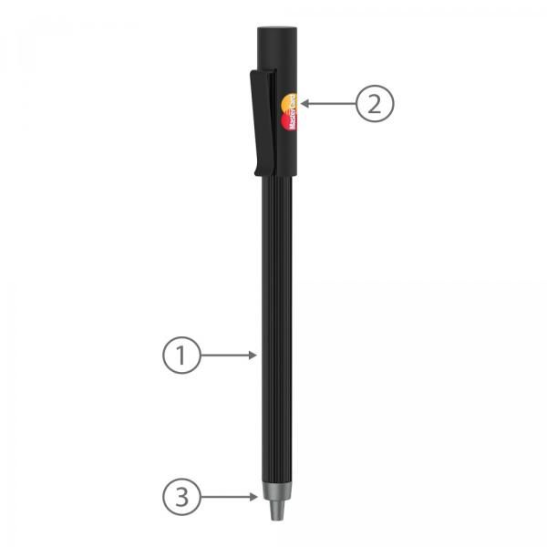 BND65 Corpy Push Metal Ball Pen Office Supplies Pen & Pencils BND65-1