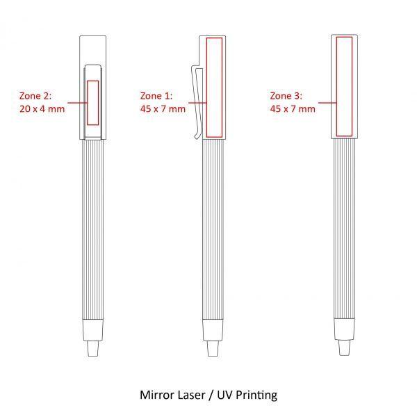 BND65 Corpy Push Metal Ball Pen Office Supplies Pen & Pencils BND65-5