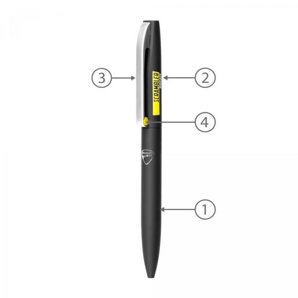 BND75 Claw Twist Metal Ball Pen Office Supplies Pen & Pencils BND75-2