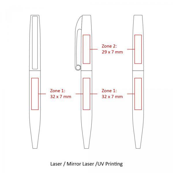 BND75 Claw Twist Metal Ball Pen Office Supplies Pen & Pencils BND75-5