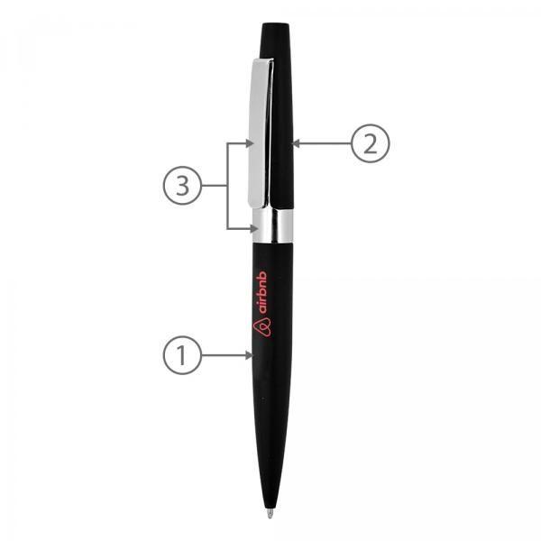 BND77 Peri Twist Metal Ball Pen Office Supplies Pen & Pencils BND77-2