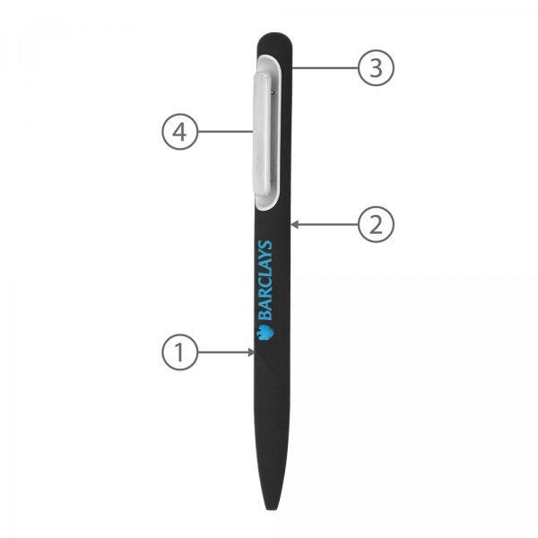 BND81 Soo Twist Metal Ball Pen Office Supplies Pen & Pencils BND81-2