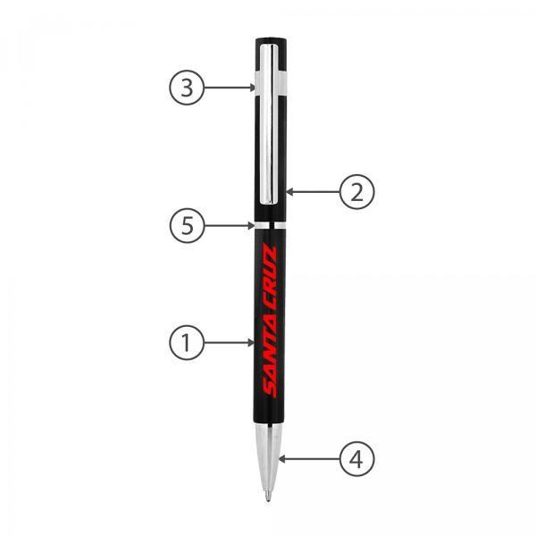 BND70XL Peri Stylus Twist Metal Ball Pen Office Supplies Pen & Pencils BND70XL-2