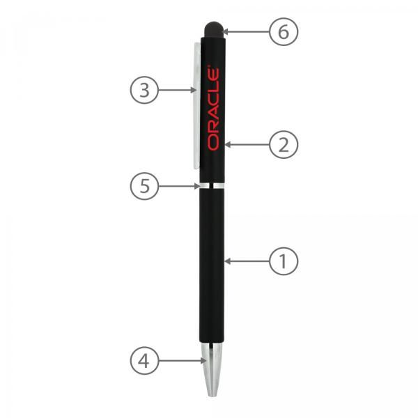 BND71XLS Peri Stylus Twist Metal Ball Pen Office Supplies Pen & Pencils BND71XLS-2