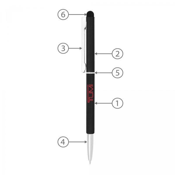 BND71S Peri Stylus Twist Metal Ball Pen Office Supplies Pen & Pencils BND71S-2