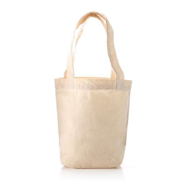 S Mini Cotton Tote Bag Tote Bag / Non-Woven Bag Bags Best Deals Eco Friendly TNW1038BeigeHD