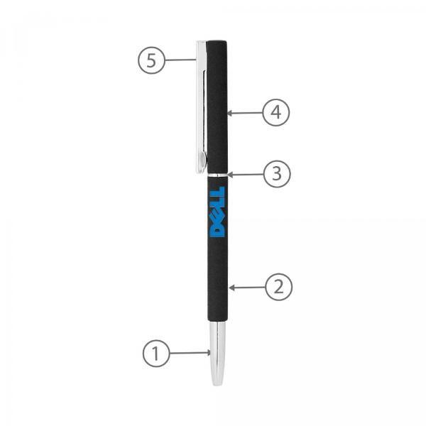 BND71 Clap Twist Metal Ball Pen Office Supplies Pen & Pencils BND71-2