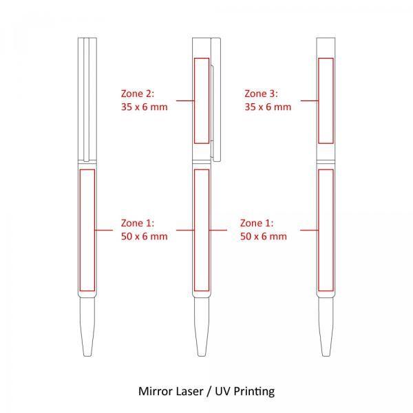 BND71 Clap Twist Metal Ball Pen Office Supplies Pen & Pencils BND71-5