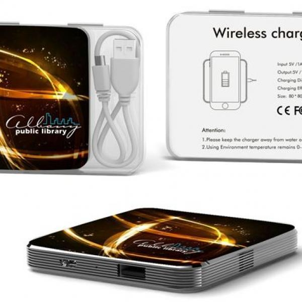 2189 Wireless Charger With Metal Plating Electronics & Technology Computer & Mobile Accessories EMP10542