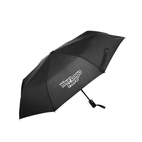 Esparza Teflon Auto Open Auto Close Foldable Umbrella Umbrella Foldable Umbrellas UMF1017LogoHD