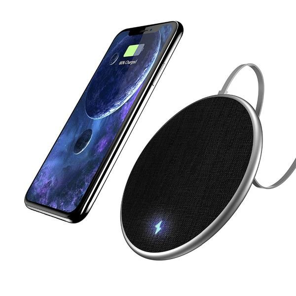 Bakeey Fast Charge Wireless Charger Electronics & Technology Computer & Mobile Accessories Best Deals EMP1020_BlackHD2