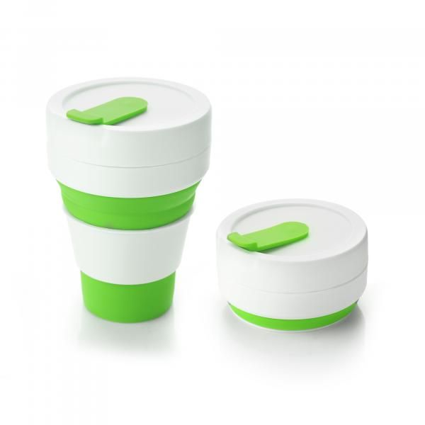 Collapsible Coffee Mug Household Products Drinkwares HDC1036HD_Green
