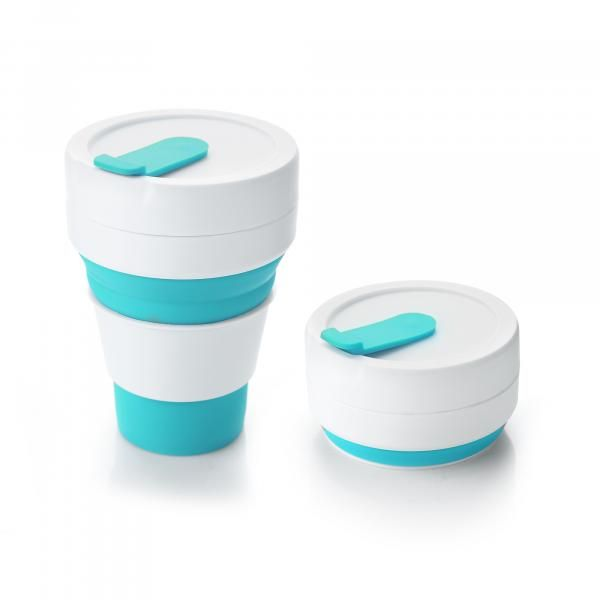 Collapsible Coffee Mug Household Products Drinkwares HDC1036HD_LightBlue