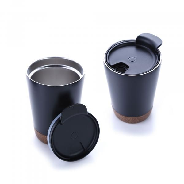 Vacuum SS Mug With Cork Base Household Products Drinkwares HDC1038HD_1