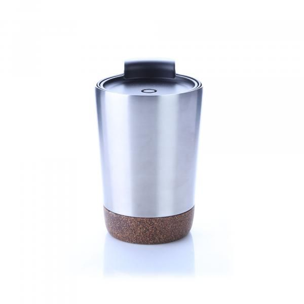Vacuum SS Mug With Cork Base Household Products Drinkwares HDC1038HD_Silver