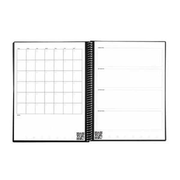 Rocketbook Fusion - Lettersize Other Office Supplies Crowdfunded Gifts Eco Friendly fusionLetter-flat-monthOKRs_400x