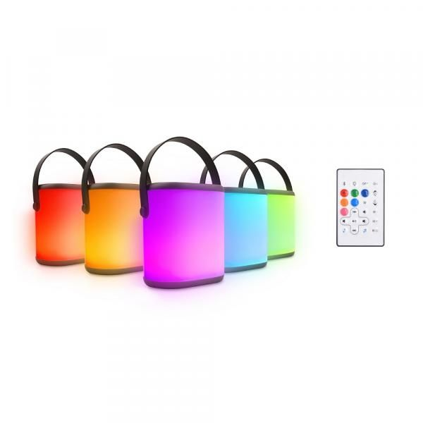 BC Aurora Portable BT LED Bluetooth Speaker Electronics & Technology Computer & Mobile Accessories Differentcolorswithremote
