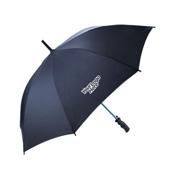 23'' Blue Coloured Frame Straight Umbrella Umbrella Straight Umbrella UMS1029LogoThumb