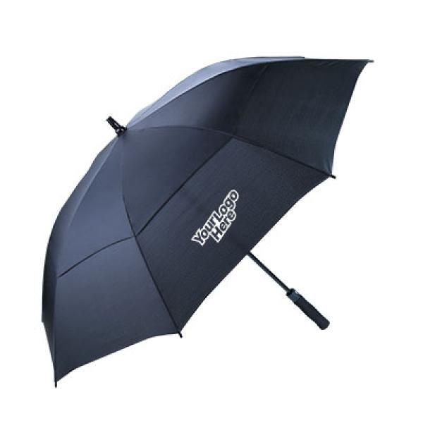 2 Layers Wind Proof 27'' Golf Umbrella Umbrella Straight Umbrella UMS1030LogoThumb