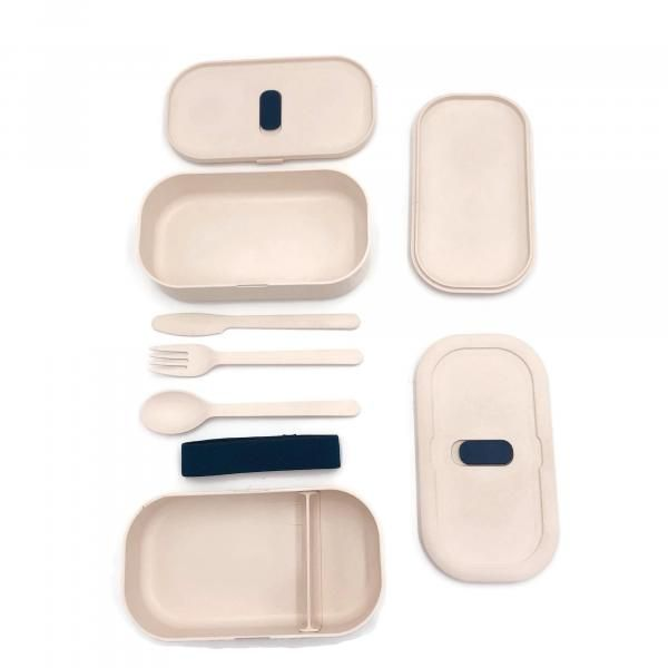 2-tier Lunch Box with Cutlery Set Household Products Kitchenwares IMG_0890